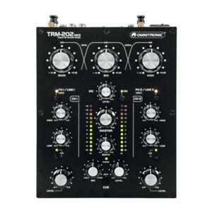 Omnitronic TRM-202 MK3 2 Channel Rotary DJ Mixer