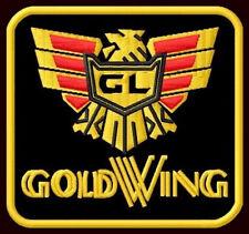 "HONDA GOLDWING EMBROIDERED PATCH ~3-1/4""x 3-1/4"" CRUISER MOTORCYCLE CUSTOM BIKE"