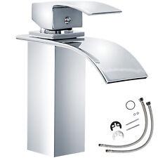 Miscelatore monocomando a cascata cromata rubinetto lavabo bagno lavandino  nuov