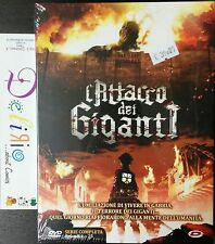 DVD - L'ATTACCO DEI GIGANTI SERIE COMPLETA  Ed. DYNIT SCONTO 10%