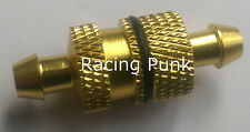 RC Nitro Car Buggy Fuel Filter 1/8 1/10 fits 5mm Fuel Line Pipe Alloy GOLD SH