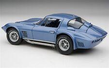 1 Chevy 1967 Vette Corvette 1 Sport Race Car Vintage Carousel Blue 18 Metal 12