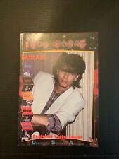 1980's Pop Gallery Duran Duran No 12 Poster Magazine