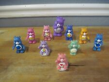 TCFC & Other Care Bear Figures Toys Cake Toppers Lot of  11 No Dups