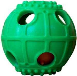Ball für Hunde zum Befüllen mit Leckerlies für mehr Spielspass und Interaktion