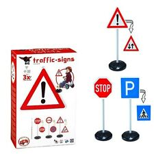 New Kids Big Traffic Signs - Kids Road Traffic Signs 3 x 2 - Sided Road Signs