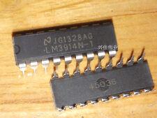 10pcs IC LM3914N-1/LM3914N DRIVER DISPLAY DIP-18 NSC