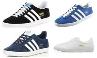 Adidas Originals Mens Gazelle Lace up Leather Trainers Suede Casual Shoes Size