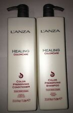 Lanza Healing ColorCare Shampoo & Conditioner Liter Duo 33.8oz For Colored Hair