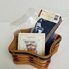 Longaberger 2003 Proudly American Little Star Basket Set*30Th Anniv*Dec Only*Usa