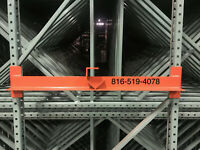 Reel Rack for Teardrop Pallet Rack or Structural Pallet Rack Spool Wire Bubble