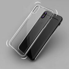 Clear Thin Soft TPU Protective Back Skin Case Cover Bumper For Apple iPhone 10/X
