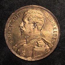 1914 BELGIUM 20 Francs Gold - High Quality Scans #E449