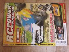 $$$ Revue RC Power Modelisme N°16 Servos Hitec  GS Vision  Pirate RS2  Bull 1/5