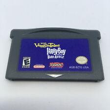 VeggieTales Larry Boy Bad Apple Gameboy Advance Game (100% Tested AUTHENTIC) GBA