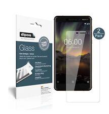 2x Nokia 6.1 2018 Screen Protector Flexible Glass 9H dipos