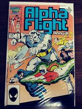 ALPHA FLIGHT ANNUAL 1 VF PA13-235