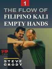 Flow of Filipino Kali Empty Hands #1 martial arts Dvd Steve Grody escrima arnis