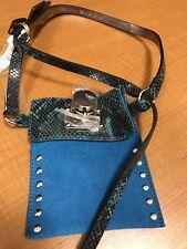 Micheal Kors Leather Suede Waist Belt Bag/wallet Nwt