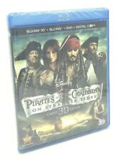 Pirates of the Caribbean: On Stranger Tides 3D (Blu-ray 3D+Blu-ray+DVD+Digital)