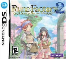 Rune Factory 2: A Fantasy Harvest Moon NDS New Nintendo DS, Nintendo DS