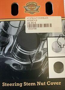 Harley-Davidson Steering Stem Nut Cover Kit Black 45700050
