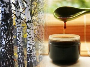 Birch Tar 100% Pure Acne Problematic Skin Treatment For Cosmetics Bulk Wholesale