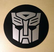 Disco De Impuestos Universal Magnetica & permiso titular Transformers Autobots Plata