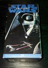 Star Wars Original Trilogy Box Set VHS video THX special Edition 1995 80's movie