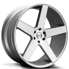 "4ea 22"" Azad Wheels AZ5198 Silver Machined Rims(S2)"
