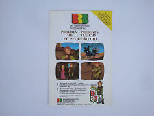 Prospectus ancien catalogue dessin animé Le petit Cid El pequeno The little