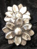 "2 Oz MK BarZ ""Spring Flower"" Hand poured .999 Fine Silver"