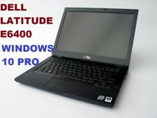 DELL LATiTUDE E6400 CORE 2 DUO 2.40GHz / 4GB / 160GB / WIN 10 Pro / DVD-RW WIFI