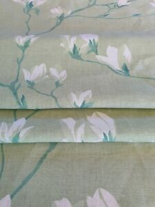 Laura Ashley Magnolia Grove Hedgerow Floral Fabric (per metre) * FREE DELIVERY *