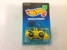 Vintage 1989 Hot Wheels Workhorses wheel loader FREE shipping!