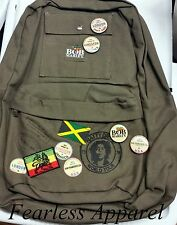 Bob Marley Zion Rootswear Natty Dread Rasta Jamaica Stoner Backpack School Bag