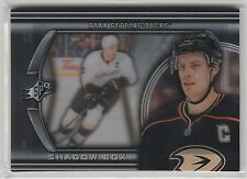 2011 11-12 SPx Shadowbox #SB14 Ryan Getzlaf case hit Anaheim Ducks SP
