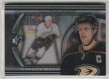 2011 11-12 SPx Shadowbox #SB14 Ryan Getzlaf case hit Anaheim Ducks SP