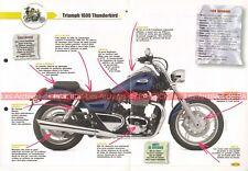 TRIUMPH 1600 Thunderbird 2009 Joe Bar Team Fiche Moto #007598