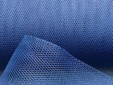3,5m Tüll Marine-Blau Dkl.-Blau Tütü Stoff Gothik Karneval Petticoats Fasching