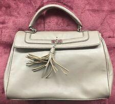 Apartment Nine Apt 9 Woman's Large Handbag Purse with Tassle, Dark Beige