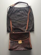 Authentic Vintage 80s Large Escada Kelly Style Bag. Pinch Clasp. Paisley Purse.
