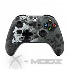 XBOX ONE CUSTOM CONTROLLER - Grey Skulls - X-Mods