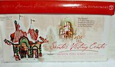 Dept 56 North Pole Santa's Visiting Center Gift Set - 56407