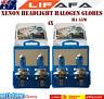 4x 55W 12V 6000K H4 Super White Headlight Xenon Halogen Globes Car Light Bulb LF