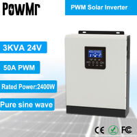 3KVA Hybrid Solar Wechselrichter Solarregler Laderegler Eingebaut in 50A AC220V