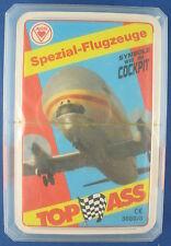 Quartett - Spezial-Flugzeuge - TOP ASS - Nr. 3080/8 - Von 1990 - NEU in Folie