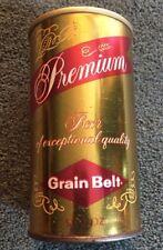 Grain Belt Premium 12oz Can Straight Steel Minneapolis Minnesota