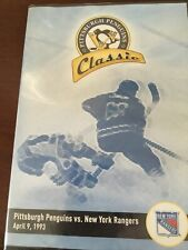 SEALED Classic Pittsburgh Penguins vs New York Rangers DVD Lemieux 5 Goals NHL
