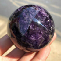 1pc Natural dreamy amethyst ball 45mm~48mm quartz crystal sphere reiki healing